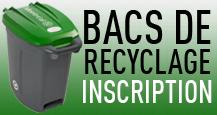 Bacs de recyclage
