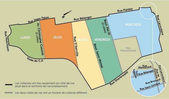 Ville de montr al arrondissement rosemont la petite for Bureau acces montreal