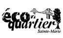 Logo éco-quartier Sainte-Marie