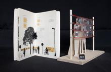 Maquette de microbibliothèques