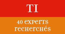 40 experts recherch�s