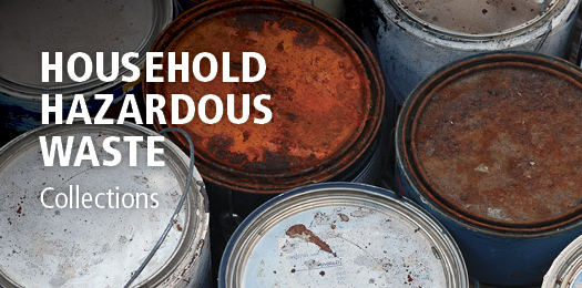 Household Hazardous Waste (HHW) collections