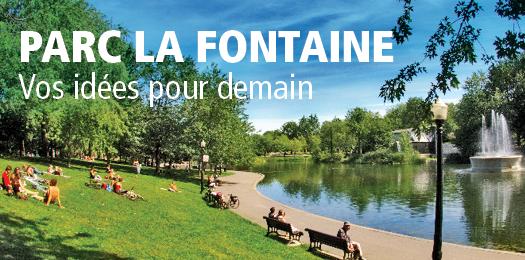 Consultation publique - Parc La Fontaine