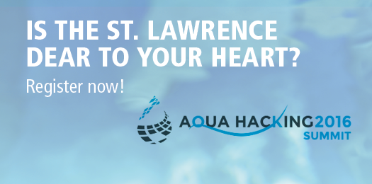 Aquahacking : together for the Saint-Lawrence - Register now!