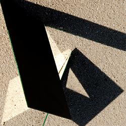 Stefan Nitoslaeski, De la série Light Flaps : chronique de la lumière, 2012, 100 x 70 cm
