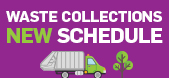 New waste collection schedule