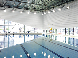 Ville de montr al arrondissement de ville marie for Centre claude robillard horaire piscine