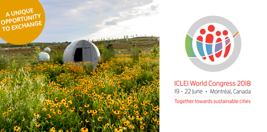 ICLEI World Congres2018, together towards sustainable cities - June 19 to 22