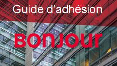 Guide d'adhésion Bonjour