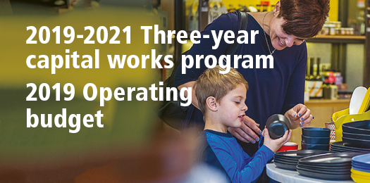 2019-2021 Three-year capital works program / 2019 Operating budget