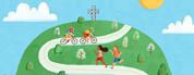 Cyclovias sur la voie Camillien-Houde