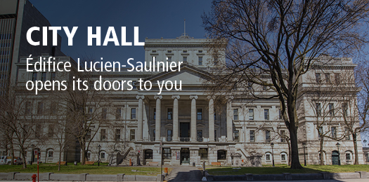 City Hall - Édifice Lucien-Saulnier open its doors to you