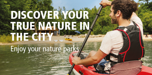 Discover your true nature in the city - Enjoy your nature parks!