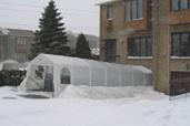 Abris tempo ville montreal for Abri piscine quebec
