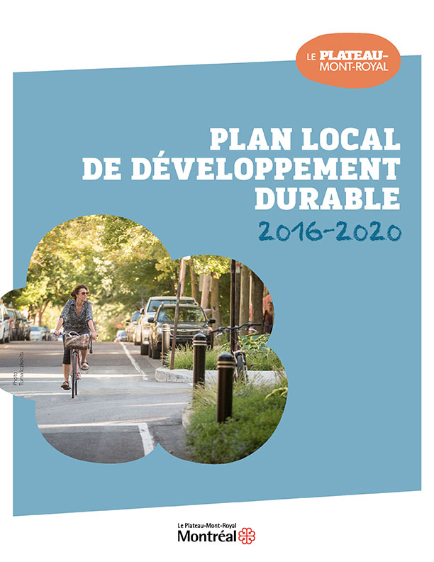 Plan local de développement durable 2016-2020