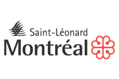 The logo of the Borough of Saint-L�onard