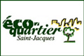 Logo éco-quartier Saint-Jacques