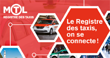 Le Registre des taxis, on se connecte!