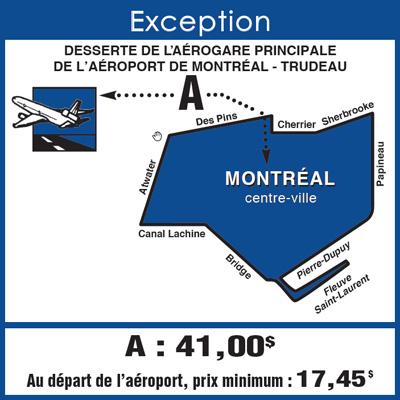 Aeroport De Montreal Vers Le Centre Ville