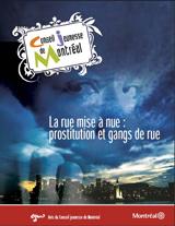 Couverture de l'avis sur les gangs de rue et la prostitution.
