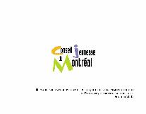 Couverture du mémoire sur la proposition de politique de développement culturel Montréal, métropole culturelle.