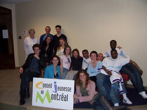 Membres du CjM et du Conseil de jeunes de Créteil.
