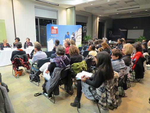 Table ronde Quand les femmes s'en mêlent : les défis d'un parcours en politique municipale