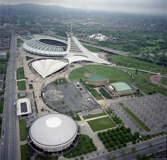 Ville de montr al conseil du patrimoine de montr al le - Piscine du stade olympique ...