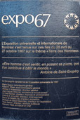 Plaque Expo67 Place-des-Nations - CPM 2011