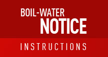 Boil-water notice instructions