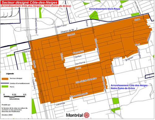 Ville de Montral Habiter Montral Renovation la carte
