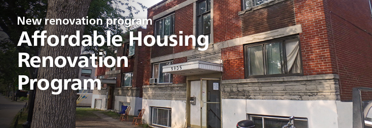 Affordable housing renovation program