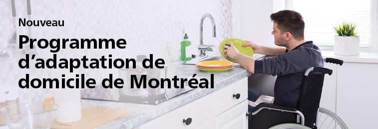 Nouveau programme d'adaptation de domicile de Montréal