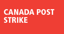 Canada Post service interruption