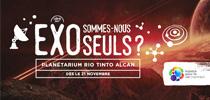 Spectacles : Demain l'espace et EXO