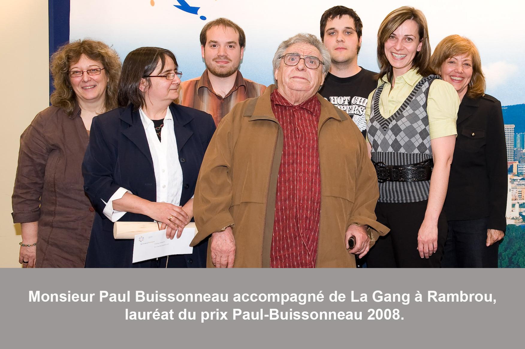 Photo Paul-Buissonneau 2008