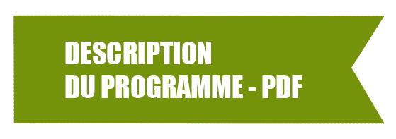 Bandeau Description du programme pdf