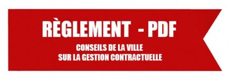 Bandeau Règlement pdf