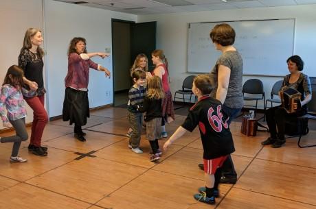 Photo #1 cours danse enfants-parents