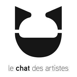 Logo - The Artists' Cat (in French)