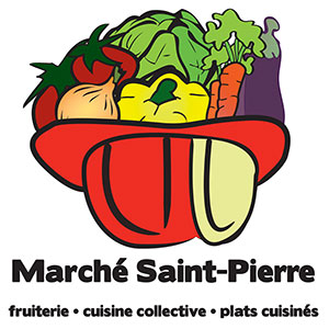 Logo - Marché St-Pierre (in French)
