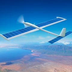 The most enduring and lightest solar drone on the market