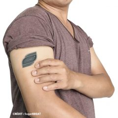 SugarBEAT : wearable sensor patch to provide real time glucose readings