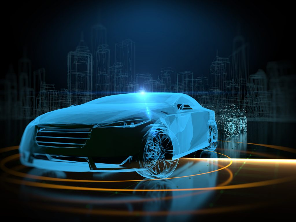 Driverless self drive autopilot vehicle