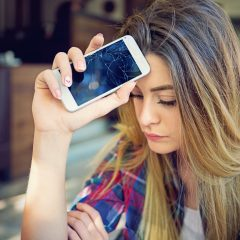 Soon screens of smartphones that self-repair?