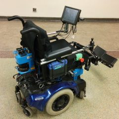The smart wheelchair gives users more autonomy