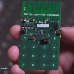 Researchers invent a phone without a battery