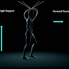 Smart walk assist improves rehabilitation