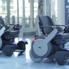 Autonomous wheelchairs arrive at airports