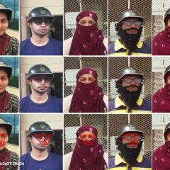 An artificial intelligence allows to identify people even when they wear a mask or glasses